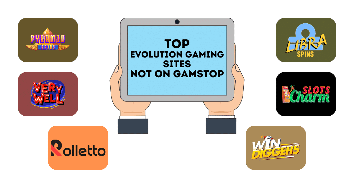 top evolution gaming not on gamstop